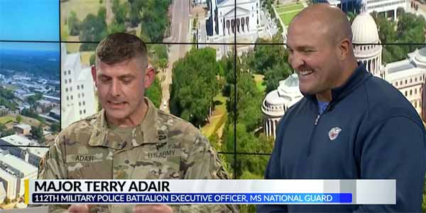 Paul Lacoste Sports & MS National Guard Team Up for Fitness Program – WJTV